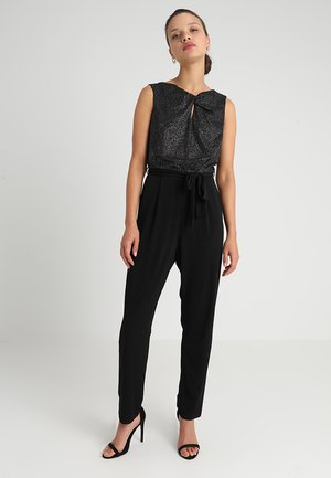 SLESS GLITTER WAVE - Jumpsuit - black