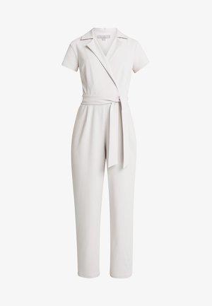 TUXEDO FRONT - Jumpsuit - grey