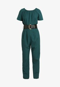Dorothy Perkins Petite - BELTED JUMPSUIT - Kombinezon - forest green - 4