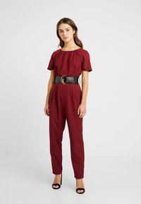 Dorothy Perkins Petite - BELTED - Combinaison - berry - 0