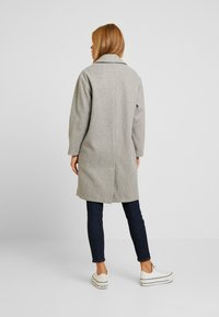 Dorothy Perkins Petite - RELAXED UNLINED - Manteau classique - grey marl - 2