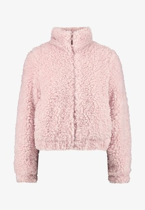 SHORT TEDDY COAT - Vinterjacka - pink