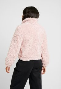 Dorothy Perkins Petite - SHORT TEDDY COAT - Winter jacket - pink - 2