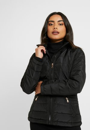 SUSTAINABLE LIGHTWEIGHT SHORT PADDED JACKET - Parka - black