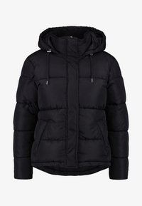 Dorothy Perkins Petite - SHORT HOODED PADDED JACKET - Lehká bunda - black - 4