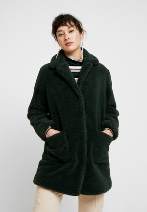 LONGLINE COAT - Kurzmantel - forest green