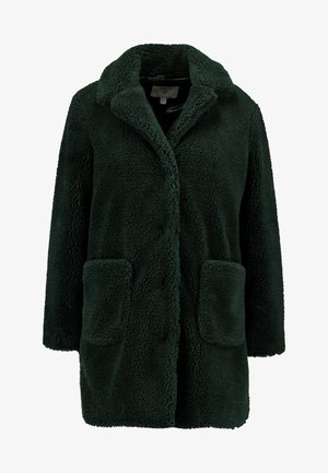 LONGLINE COAT - Short coat - forest green