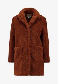 Dorothy Perkins Petite - LONGLINE COAT - Abrigo de invierno - rust - 3