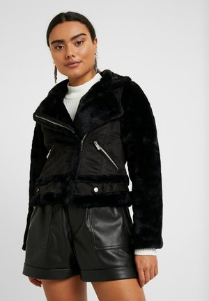 SHEARLING - Winter jacket - black