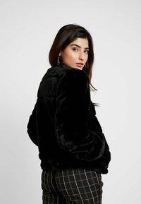 Dorothy Perkins Petite - SHORT CARVED - Winter jacket - black - 2
