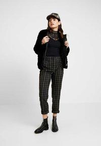 Dorothy Perkins Petite - SHORT CARVED - Winter jacket - black - 1