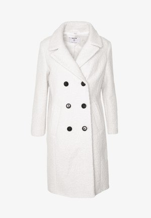 CREAM BOUCLE COAT - Kåpe / frakk - cream