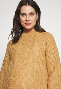 Dorothy Perkins Maternity - CABLE - Jersey de punto - camel - 3