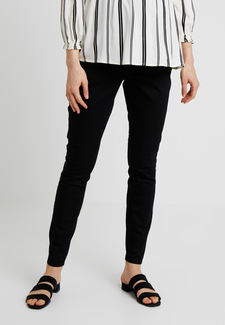 Dorothy Perkins Maternity - OVER BUMP DARCY - Jeans Skinny Fit - black