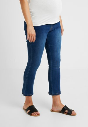 OVERBUMP KICK FLARES - Jeans a zampa - blue denim
