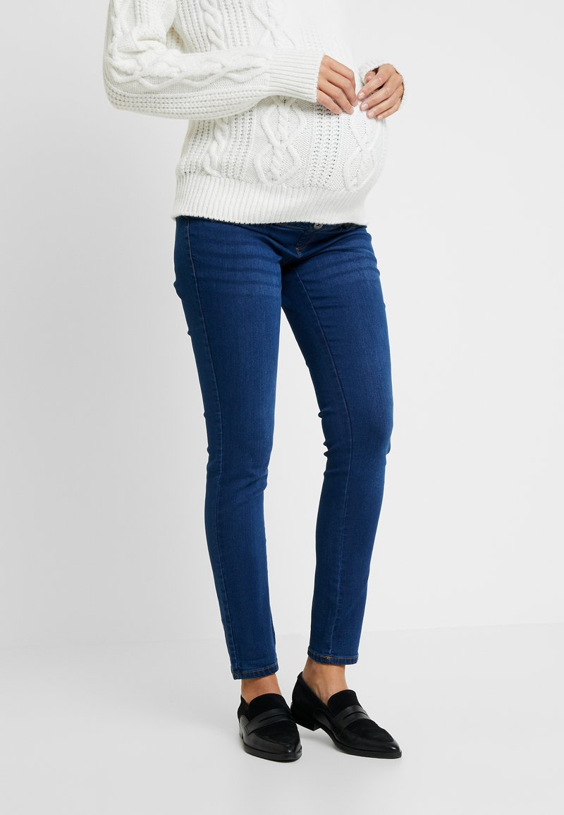 Dorothy Perkins Maternity - OVERBUMP ELLIS - Jeans Skinny Fit - mid wash