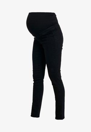 OVERBUMP ELLIS - Skinny-Farkut - black