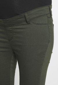 Dorothy Perkins Maternity - MATERNITY OVERBUMP EDEN JEGGING - Jeans Skinny Fit - khaki - 3