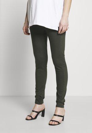 MATERNITY OVERBUMP EDEN JEGGING - Jeans Skinny Fit - khaki