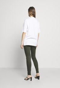 Dorothy Perkins Maternity - MATERNITY OVERBUMP EDEN JEGGING - Jeans Skinny Fit - khaki - 2