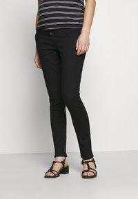 Dorothy Perkins Maternity - 2 PACK ELLIS - Jeans Skinny Fit - black/indigo - 1