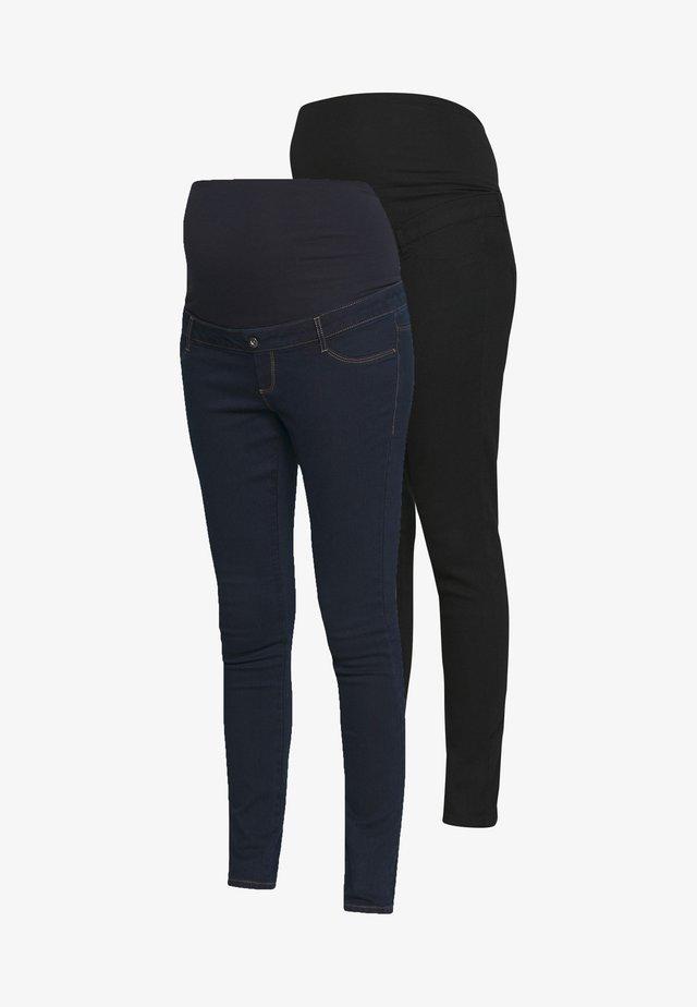 2 PACK ELLIS - Jeans Skinny Fit - black/indigo