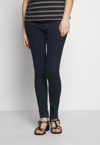 Dorothy Perkins Maternity - 2 PACK ELLIS - Jeans Skinny Fit - black/indigo - 3
