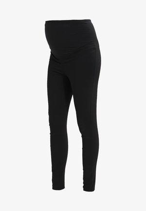 BENGALINE - Trousers - black
