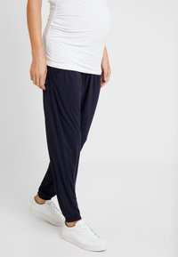 Dorothy Perkins Maternity - OVERBUMP - Pantalon de survêtement - navy - 0