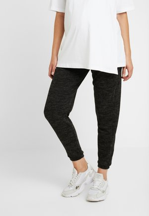 BRUSHED JOGGER PLAIN - Pantalon de survêtement - charcoal