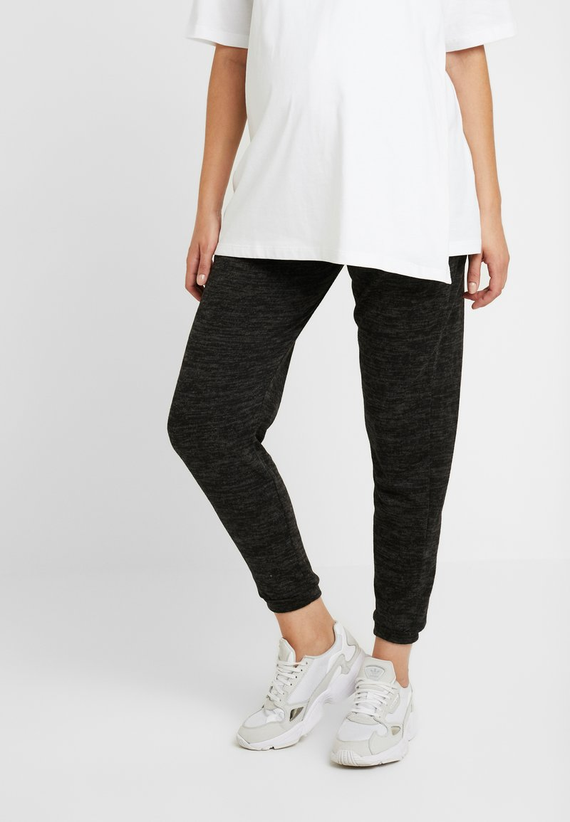 Dorothy Perkins Maternity - BRUSHED JOGGER PLAIN - Joggebukse - charcoal