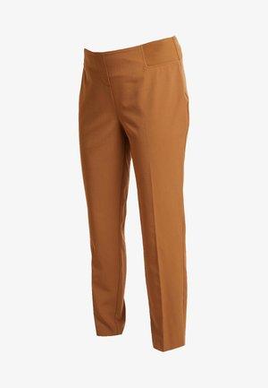 UNDERBUMP ANKLE GRAZER - Pantalones - camel
