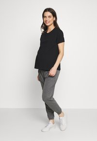 Dorothy Perkins Maternity - PLAIN JOGGER - Teplákové kalhoty - charcoal - 1