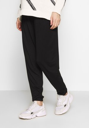 PLAIN JOGGER - Trainingsbroek - black