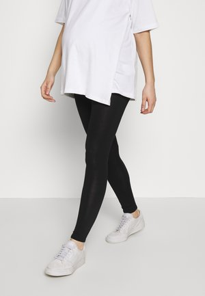 PLAIN - Leggings - black