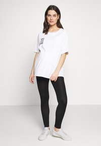 Dorothy Perkins Maternity - PLAIN - Legginsy - black - 1