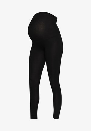 PLAIN - Leggings - Trousers - black