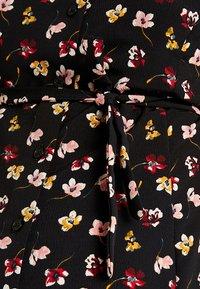 Dorothy Perkins Maternity - BUTTON DOWN TEA DRESS - Day dress - black - 5