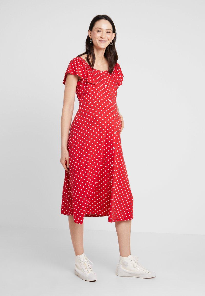 Dorothy Perkins Maternity - SPOT BARDOT - Jersey dress - red