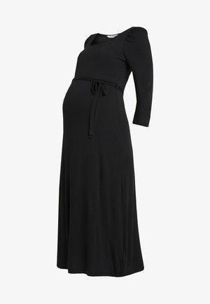 MOLLY GRAZER DRESS - Jerseyklänning - black