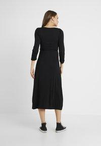 Dorothy Perkins Maternity - MOLLY GRAZER DRESS - Žerzejové šaty - black - 2