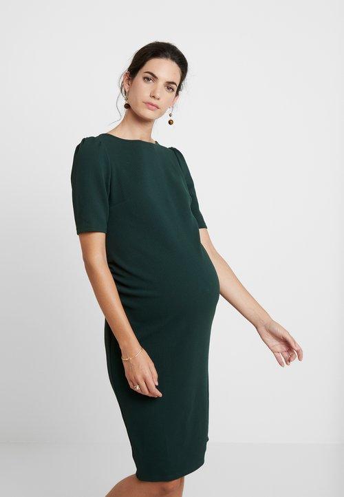 Dorothy Perkins Maternity SLEEVE BODYCON DRESS - Sukienka etui - green Odzież Damska Sukienki QREE-DZ6 szyk