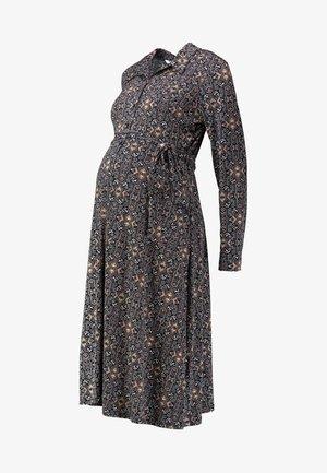 MIDI DRESS - Jersey dress - grey