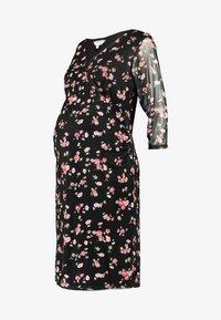 Dorothy Perkins Maternity - Vestito di maglina - black - 4