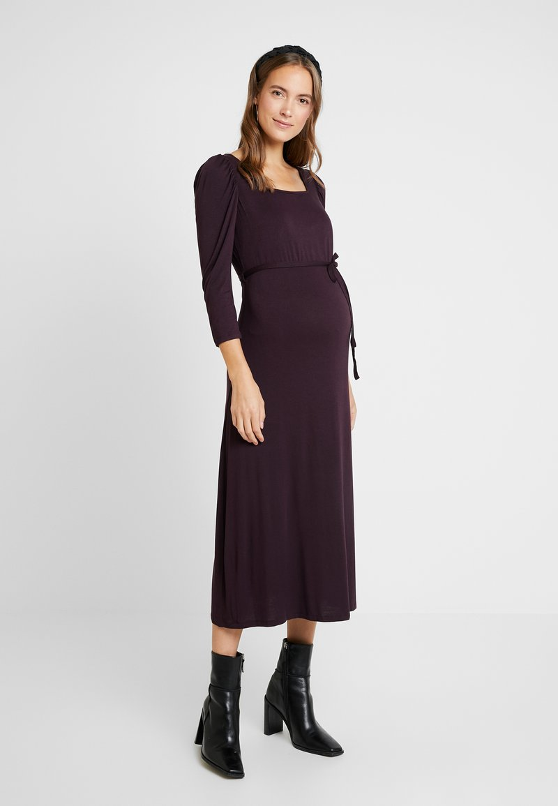 Dorothy Perkins Maternity - BERRY MOLLY DRESS - Žerzejové šaty - purple