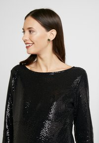 Dorothy Perkins Maternity - SEQUIN MIDI - Cocktail dress / Party dress - black - 5