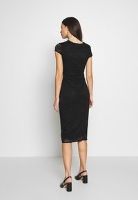 Dorothy Perkins Maternity - V NECK BODYCON DRESS - Denní šaty - black - 2