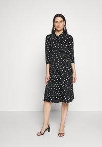 Dorothy Perkins Maternity - HEART DRESS - Žerzejové šaty - black - 1