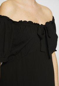 Dorothy Perkins Maternity - MATERNITY MILKMAID CRINKLE DRESS - Jerseykjoler - black - 5