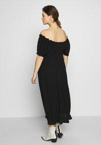 Dorothy Perkins Maternity - MATERNITY MILKMAID CRINKLE DRESS - Jerseykjoler - black - 2
